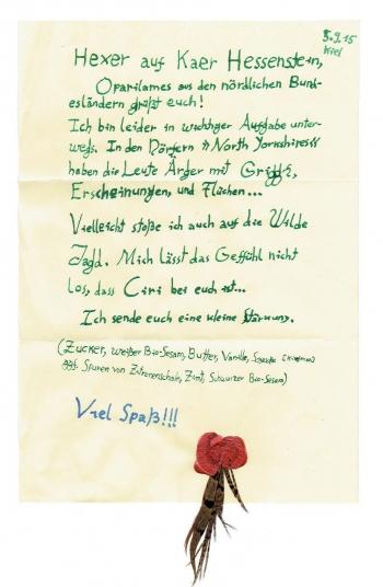 Oparilames' Schreiben an die Hexer von Kaer Hessenstein