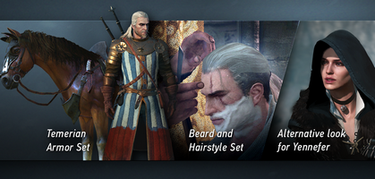 Alle frisuren witcher 3
