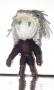 Geralt, aus Wolle gewickelte Voodoo-Puppe, von Loney