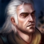 Geralt Portrait, von Engelszorn