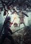 Geralt trifft auf den Leshen (The Witcher 3)