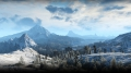 The Witcher 3 - Verschneite Berge